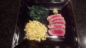 Fiano di Avellino and Seared Sesame Tuna