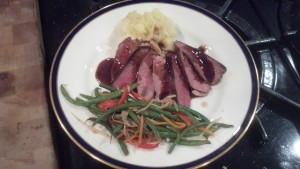 Duck Breast and a Cult Pinot Smack-Down