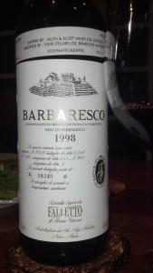 Barbaresco '98