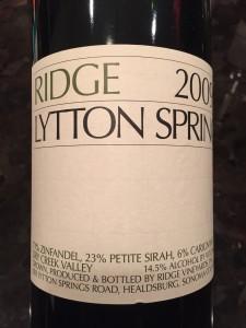 Ridge Lytton '09