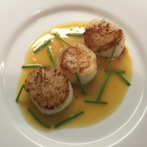 Sauvignon Blanc and Seared Scallops