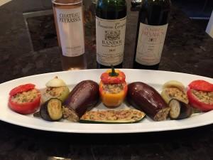 Provençal Wines and Les Farcis