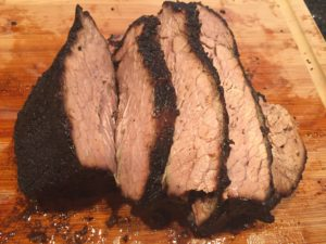 Shiraz and Smoked Brisket