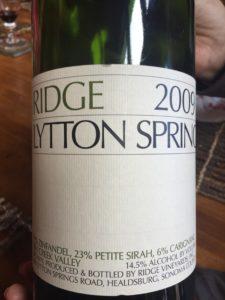 Lytton Springs '09