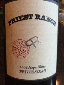 Priest Petite Sirah