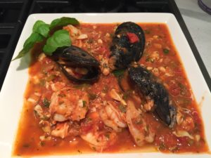 Montepulciano and Cioppino
