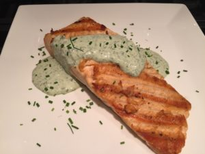 Fiano with Salmon and Creamy Tarragon Sauce