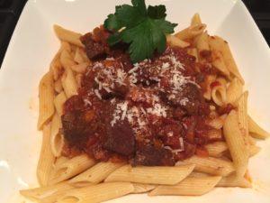 Chianti Classico and Lamb Ragù