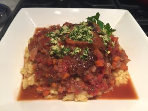 Chilean Reds and Osso Buco